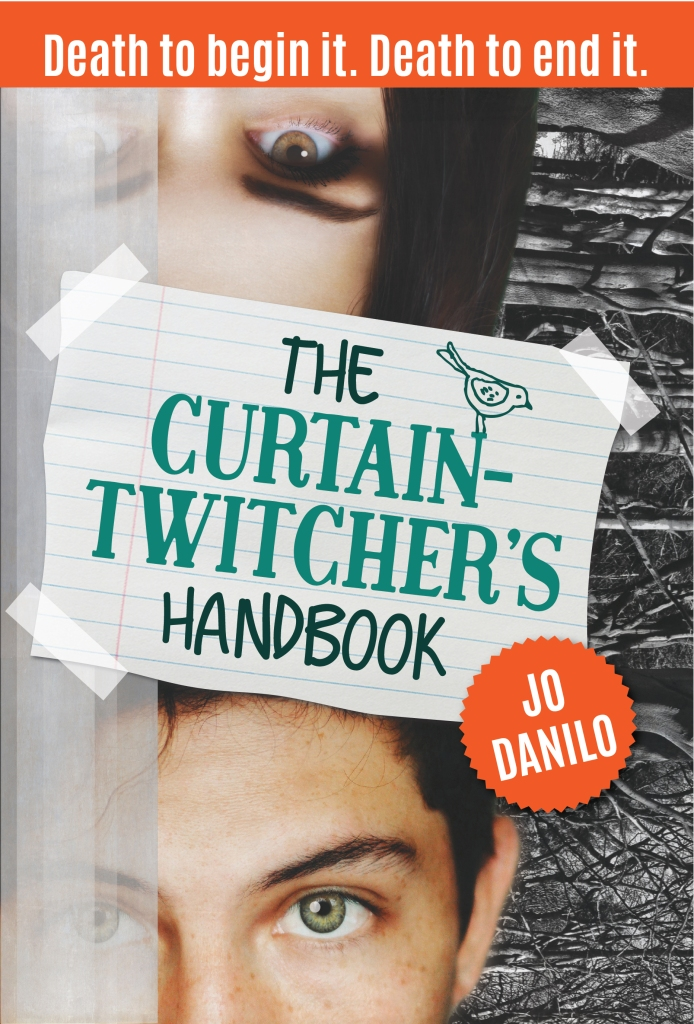 Curtain Twitchers Handbook cover by Jo Danilo