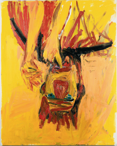Georg Baselitz Clown