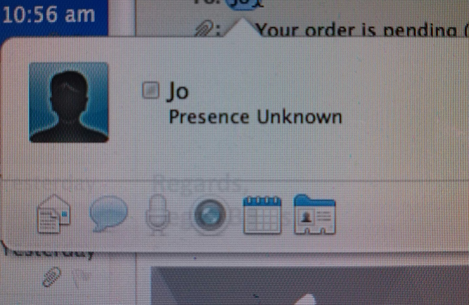 My computer doesn't know who I am